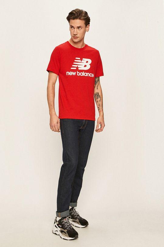 New Balance - Tričko červená