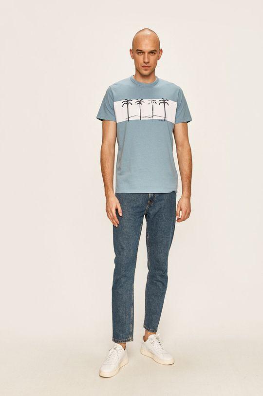 Pepe Jeans - Tricou Jools albastru pal
