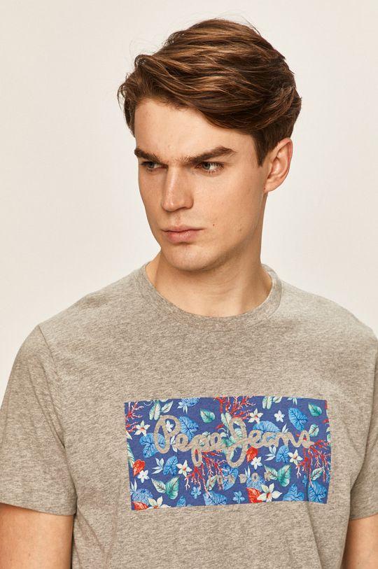 sivá Pepe Jeans - Pánske tričko Morton