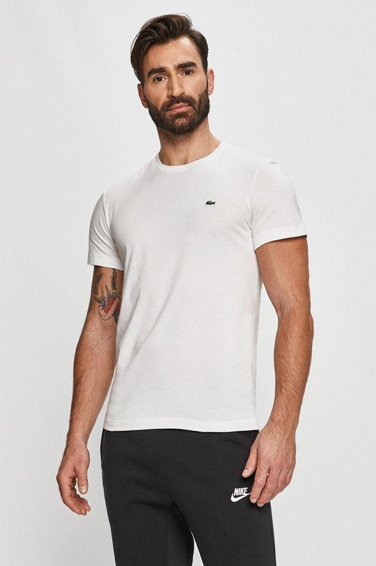 biela Lacoste - Tričko