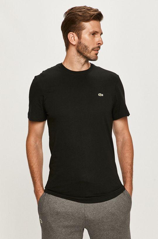 negru Lacoste - Tricou De bărbați