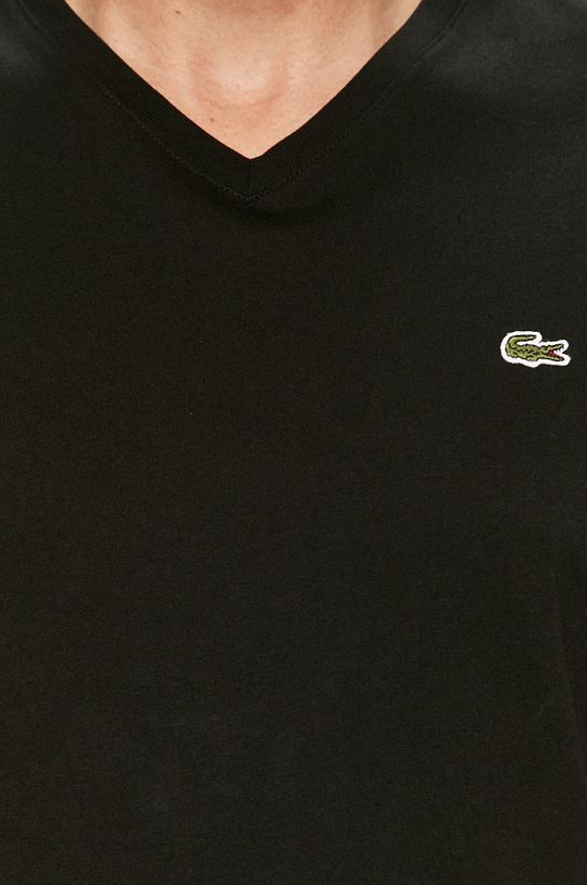 čierna Lacoste - Tričko