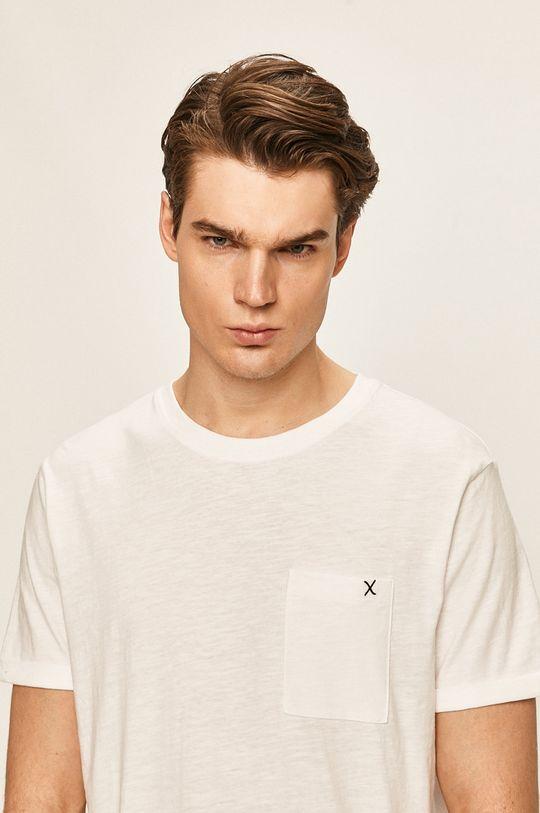 bílá Clean Cut Copenhagen - Tričko Pánský