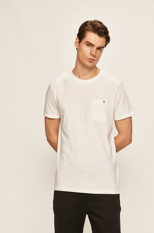bílá Clean Cut Copenhagen - Tričko