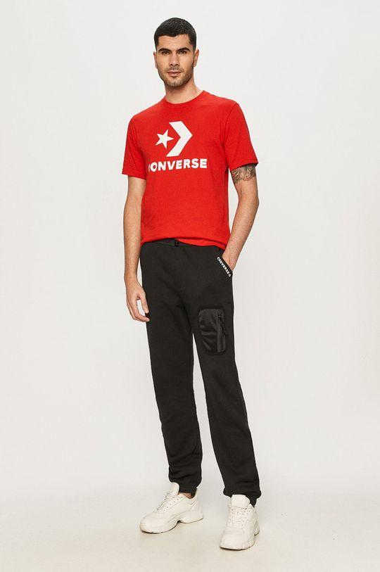 červená Converse - Tričko Pánsky
