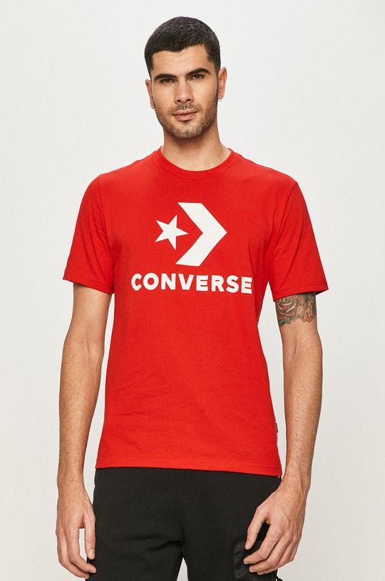 Converse - Tričko červená