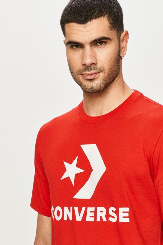 červená Converse - Tričko