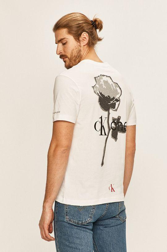 biela Calvin Klein Jeans - Pánske tričko CK One Pánsky