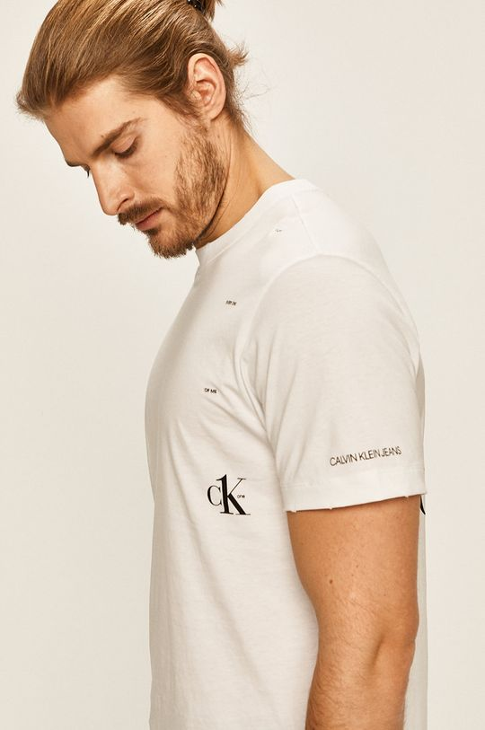 biela Calvin Klein Jeans - Pánske tričko CK One