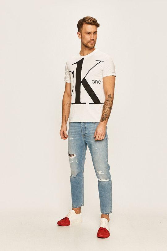 Calvin Klein Jeans - Pánske tričko biela