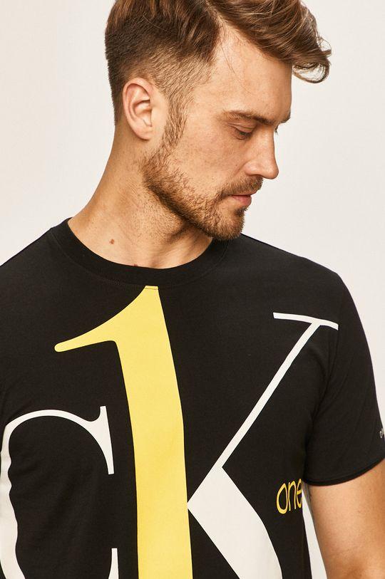 čierna Calvin Klein Jeans - Pánske tričko