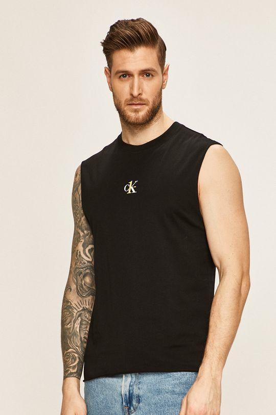 čierna Calvin Klein Jeans - Pánske tričko One Pánsky