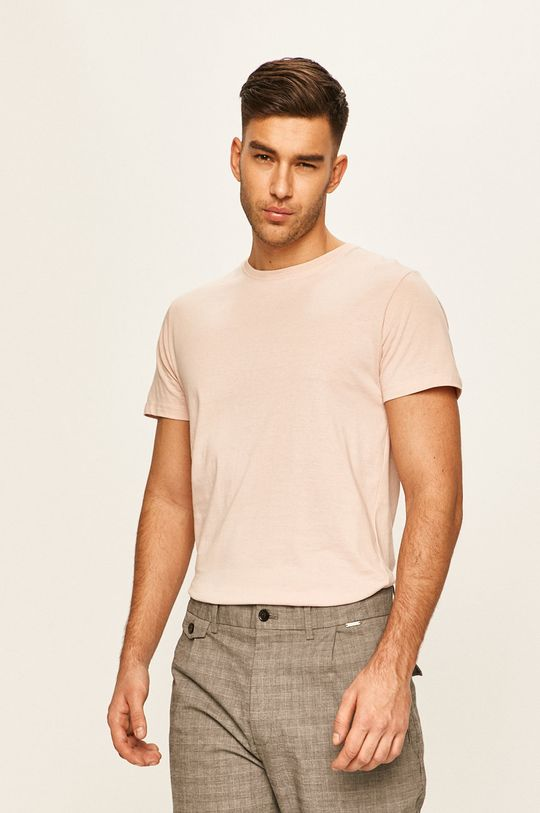 różowy Brave Soul - T-shirt