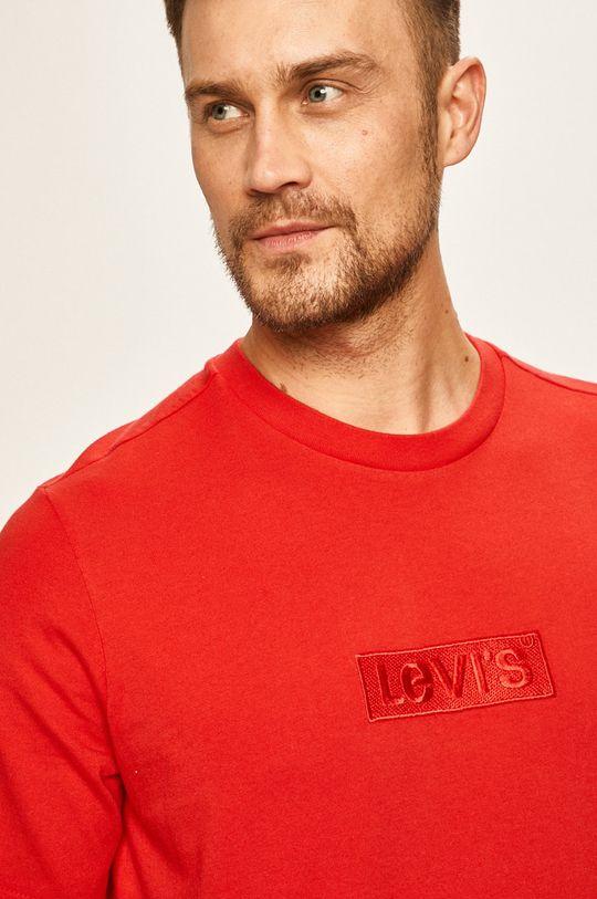 červená Levi's - Pánske tričko