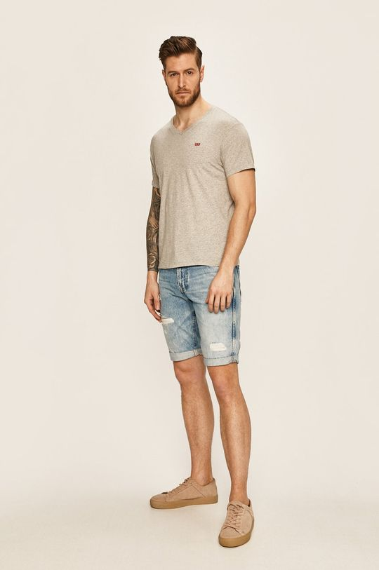 Levi's - Pánske tričko svetlosivá