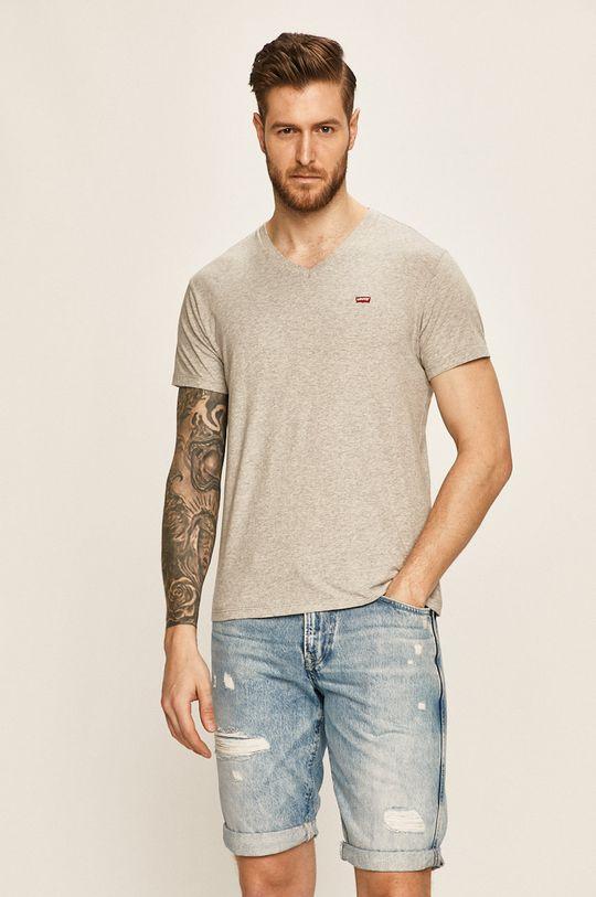 svetlosivá Levi's - Pánske tričko
