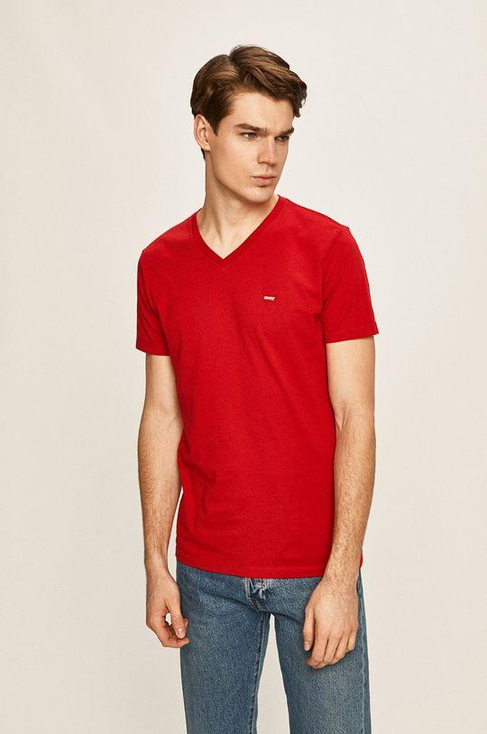červená Levi's - Pánske tričko Pánsky