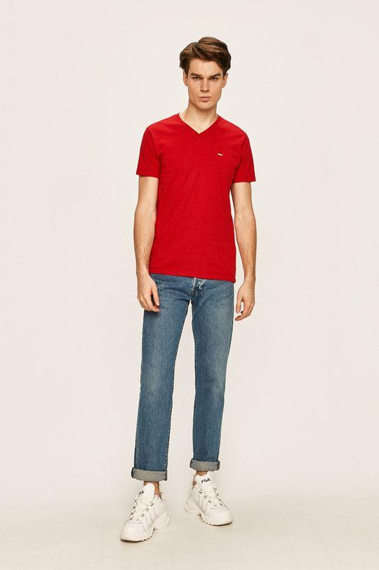 Levi's - Pánske tričko červená