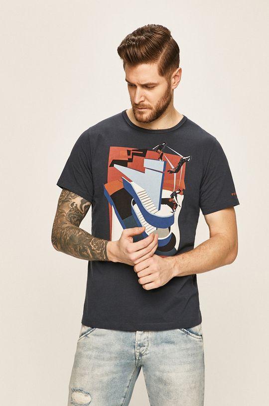 bleumarin Pepe Jeans - Tricou Jansen De bărbați