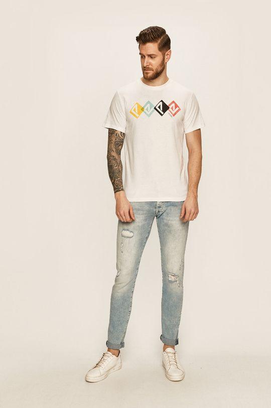 Pepe Jeans - Tricou Joel alb