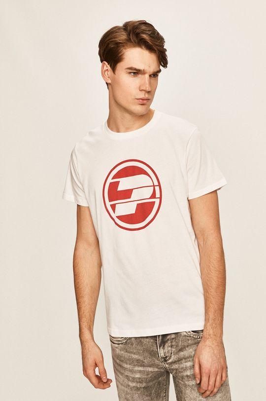 biela Pepe Jeans - Pánske tričko 45 TH Pánsky