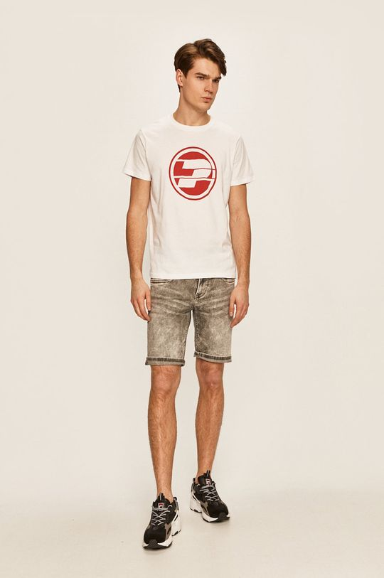 Pepe Jeans - Pánske tričko 45 TH biela