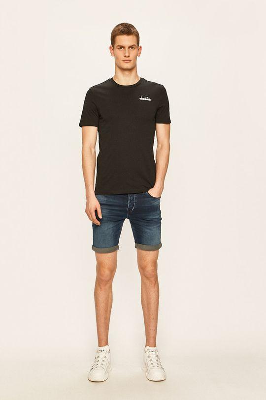Diadora - T-shirt czarny
