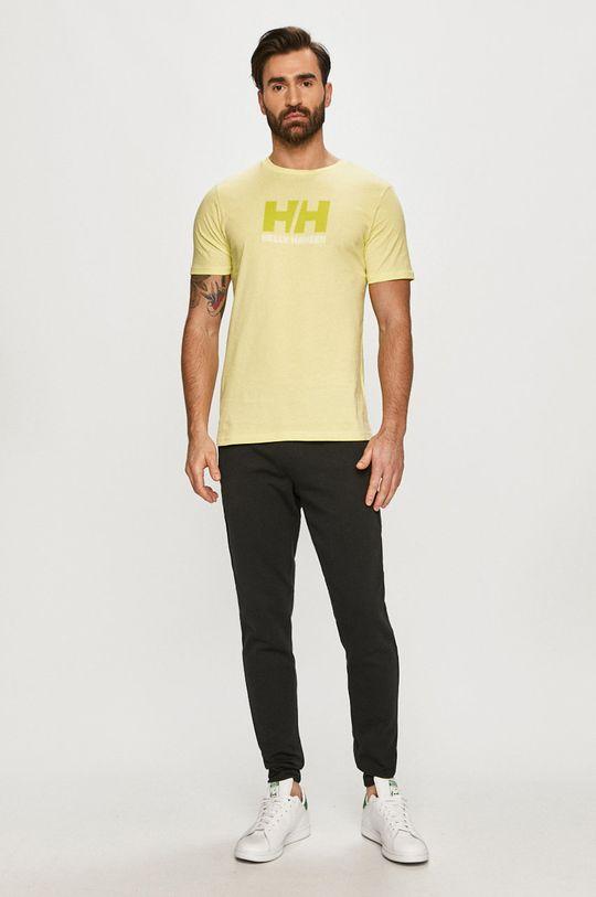 Helly Hansen - Tričko žlutě zelená
