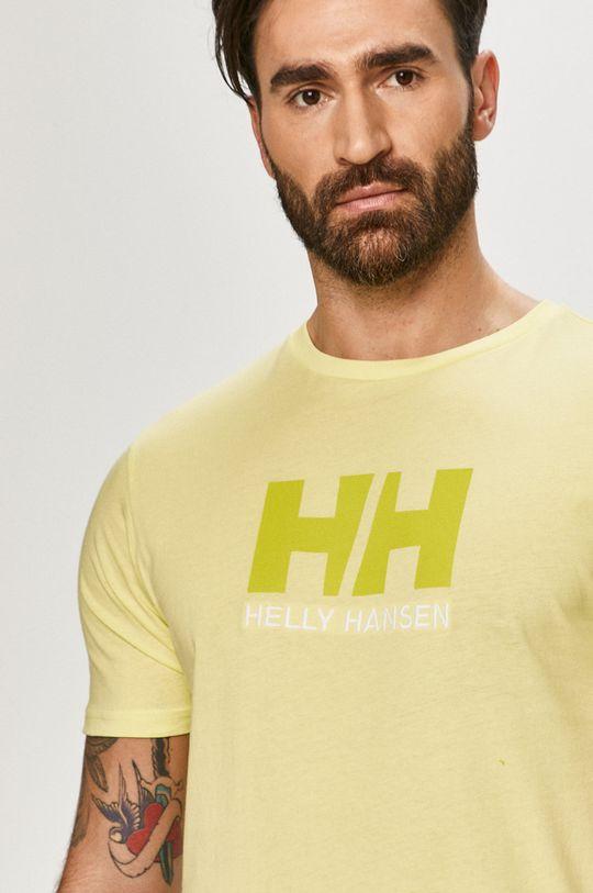 žlutě zelená Helly Hansen - Tričko