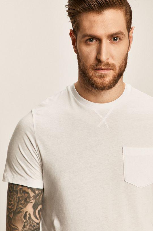 biały Brave Soul - T-shirt