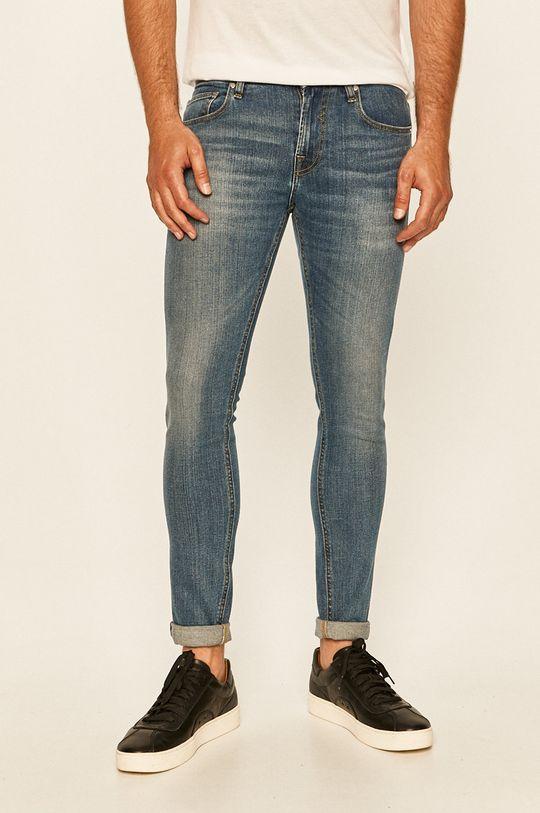 modrá Guess Jeans - Džíny Pánský