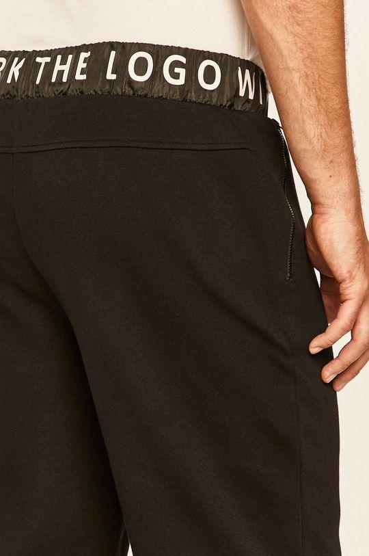 černá Guess Jeans - Kalhoty