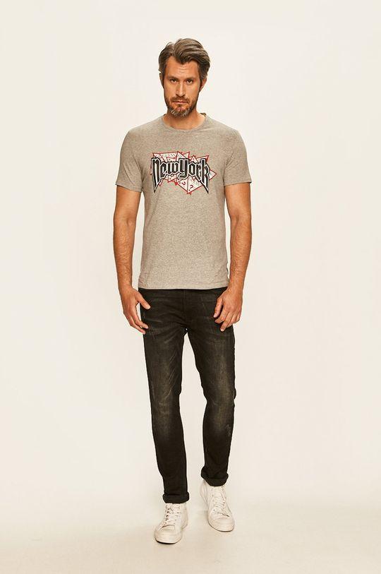 Guess Jeans - Tricou gri