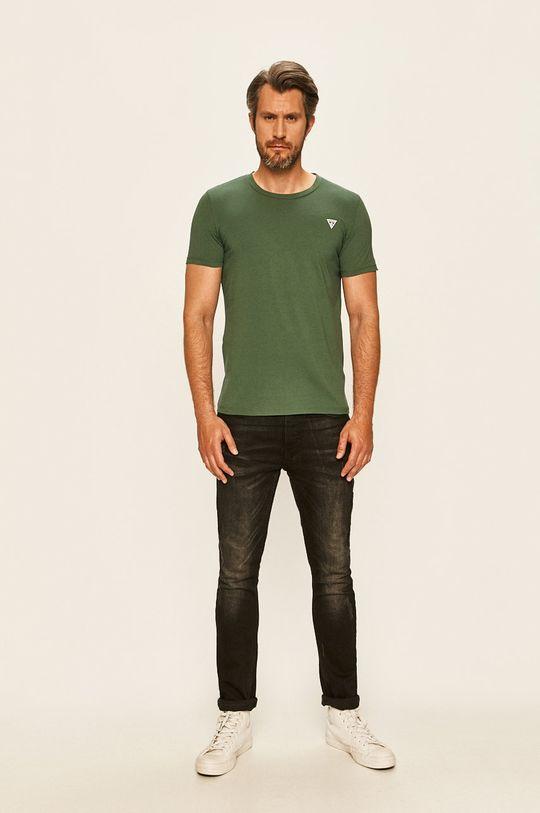 Guess Jeans - Tričko okrová