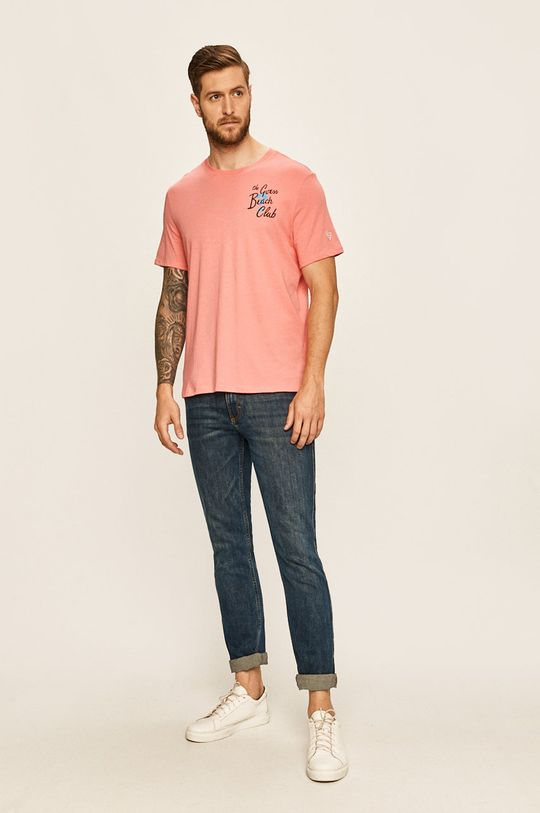 Guess Jeans - Tricou coral