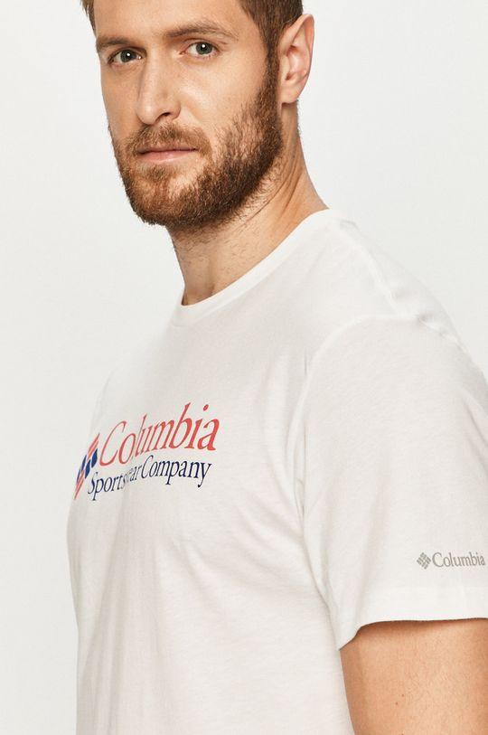 biały Columbia - T-shirt