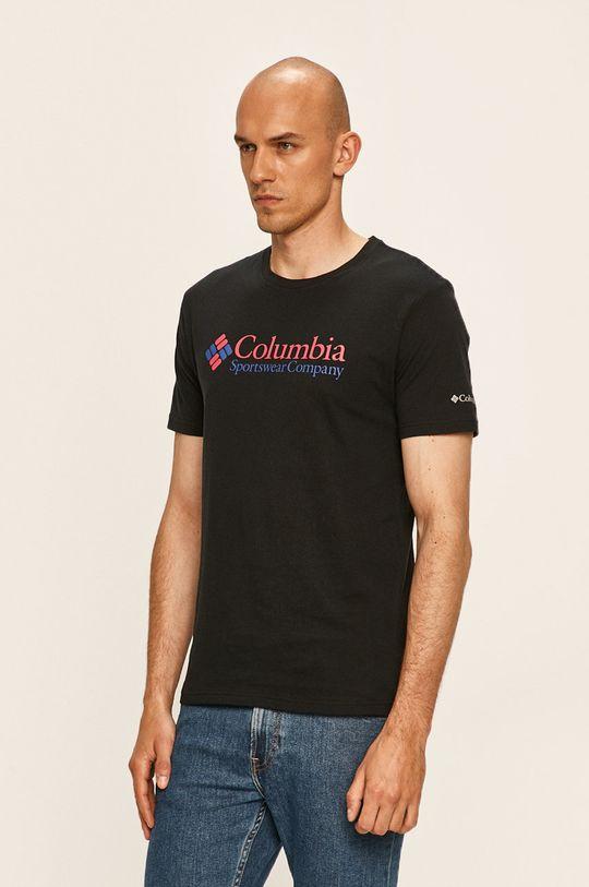černá Columbia - Tričko Pánský