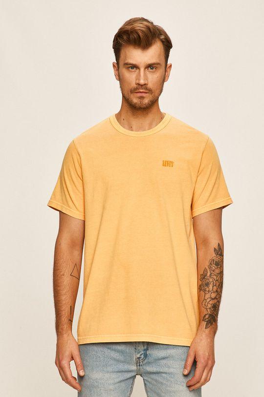žlutá Levi's - Tričko Pánský