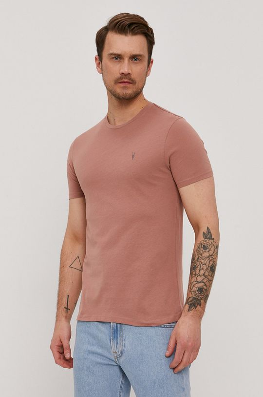 brudny róż AllSaints - T-shirt