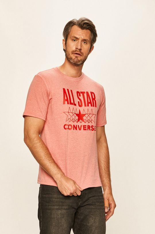 różowy Converse - T-shirt Męski