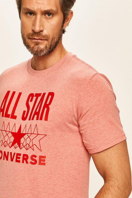 różowy Converse - T-shirt