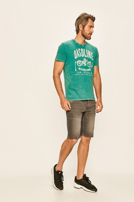 Tom Tailor Denim - Tričko zelená