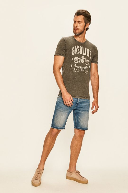 Tom Tailor Denim - Tričko šedá