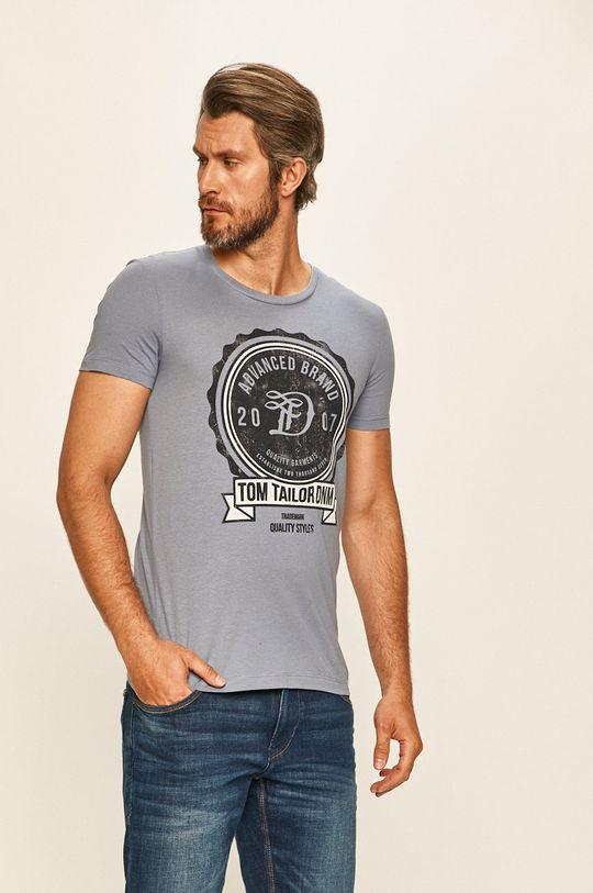modrá Tom Tailor Denim - Tričko Pánský