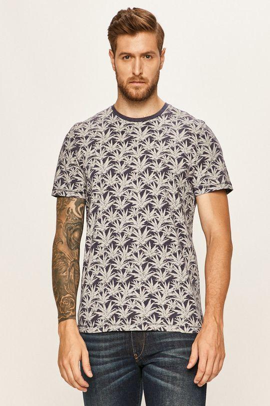 bleumarin Tom Tailor Denim - Tricou De bărbați
