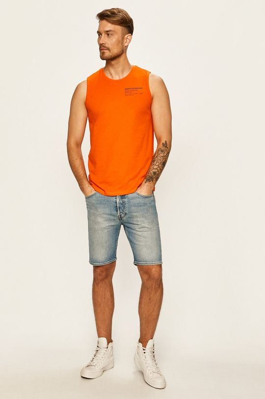Tom Tailor Denim - Футболка помаранчевий