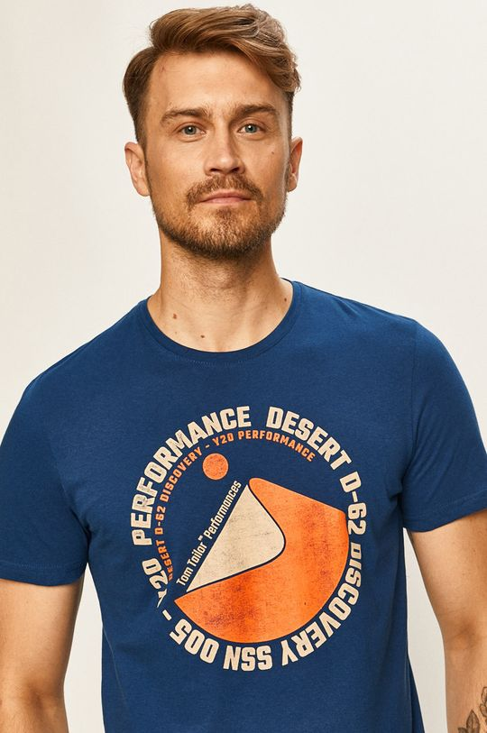 námořnická modř Tom Tailor Denim - Tričko
