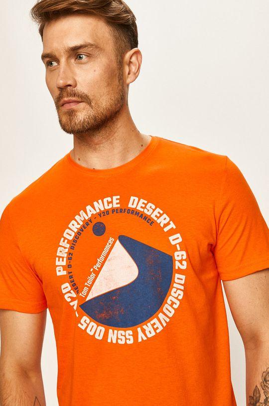 oranžová Tom Tailor Denim - Tričko