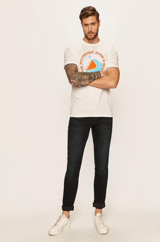 Tom Tailor Denim - Tričko bílá