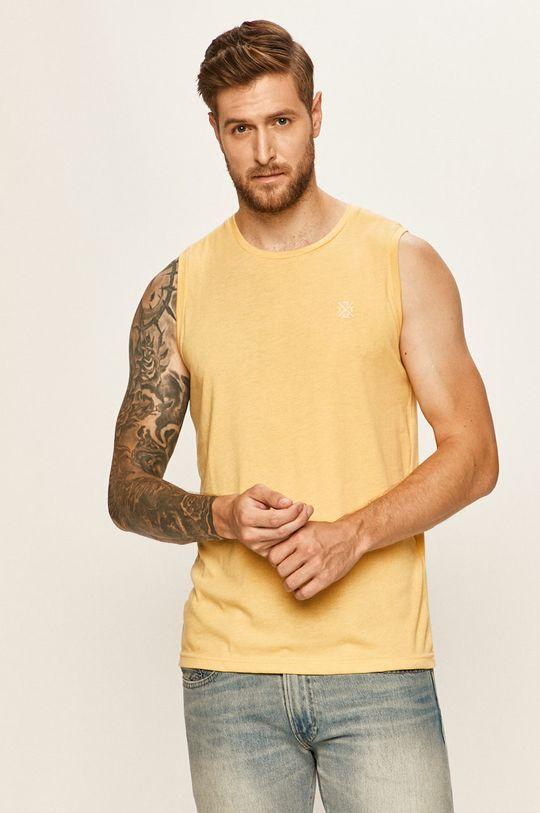 galben Tom Tailor Denim - Top De bărbați